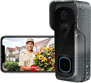 AWOW Wi-Fi Doorbell Camera with Motion Detector