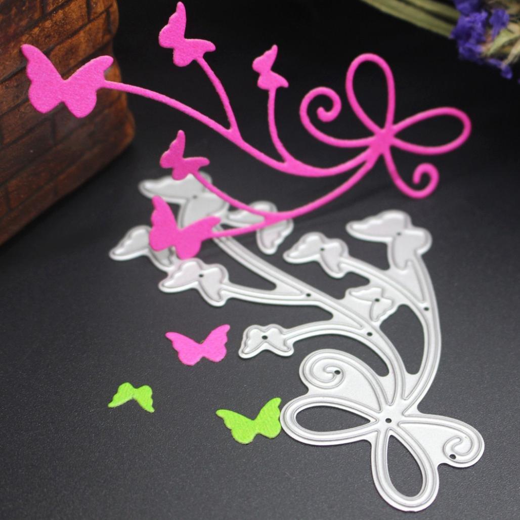 Kingko® Cutting Dies Cut Dies Stencil Metal Template Mould for DIY Scrapbook Album Paper Card (I)