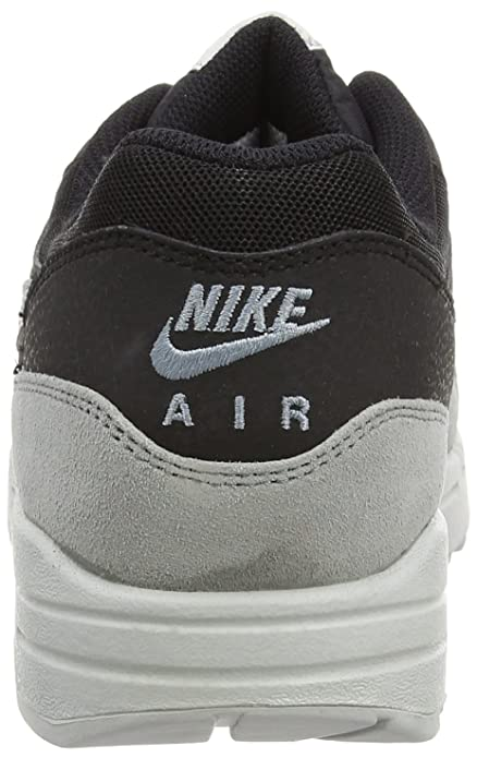 check out b6efd 8313e Nike Air Max 1 Essential, Men s Trainers, Black Dove Grey Pure Platinum,  7.5 UK  Amazon.co.uk  Shoes   Bags
