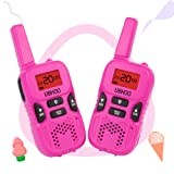 Amazon Price History for:UOKOO Walkie Talkies for Kids, Kids Walkie Talkies 22 Channel FRS/GMRS Two Way Radio Up to 3KM UHF Mini Walkie Talkies, Toys for 5-year Old Boys, Christmas Gifts for 5,6,7 8-year Old Boys and Girls