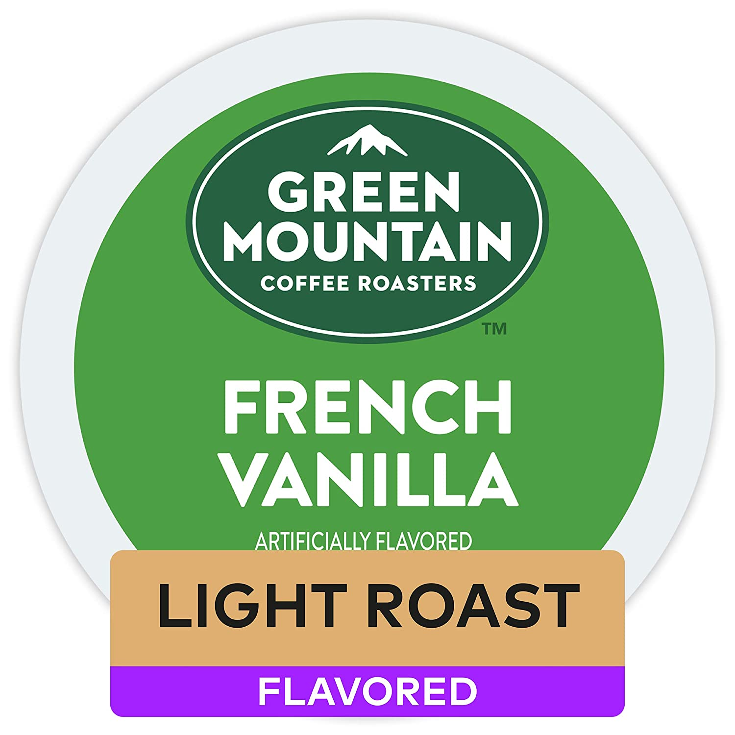 Green Mountain Coffee Roasters, French Vanilla, Keurig K-Cups, 72 Count