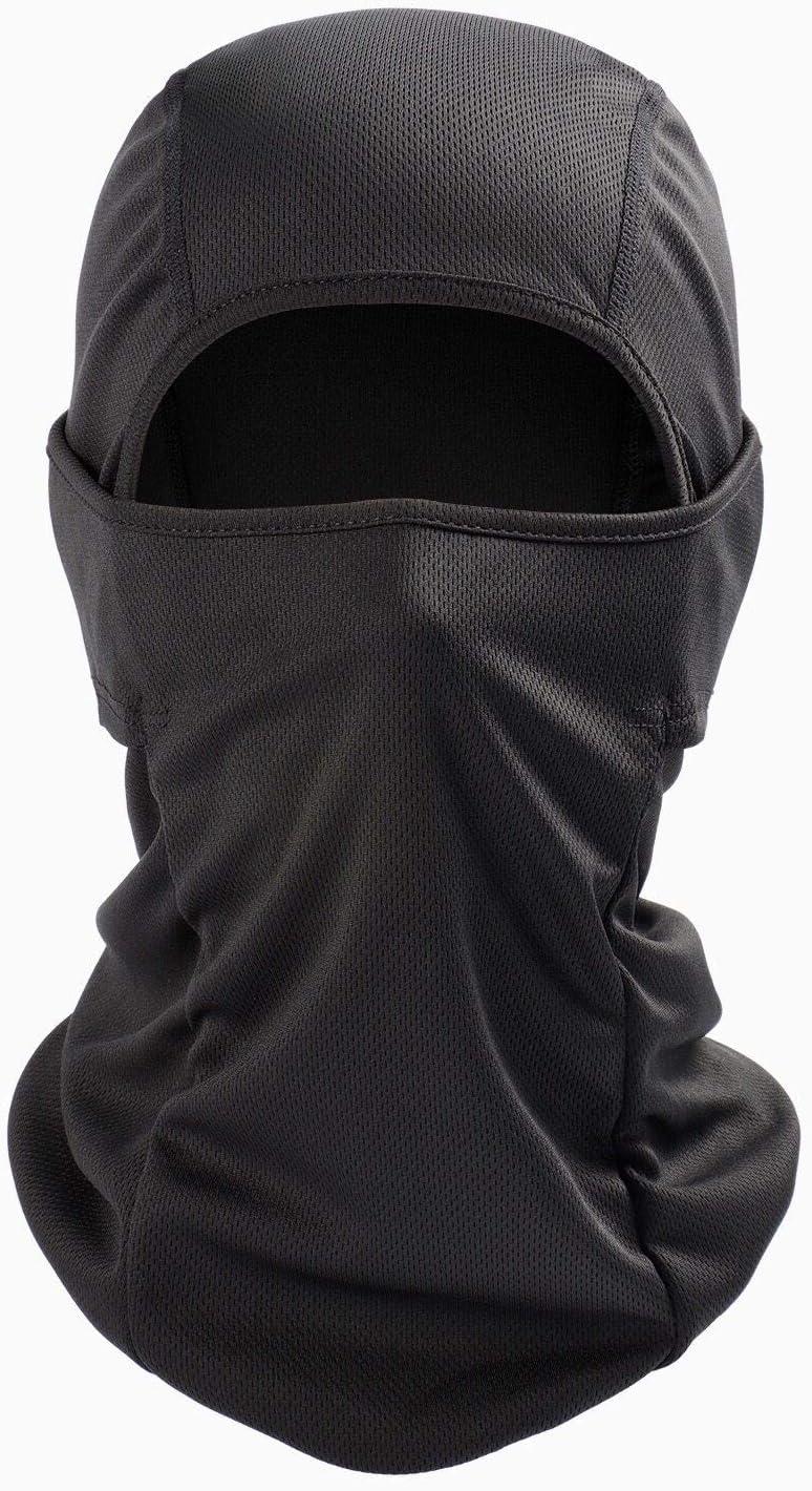 AstroAI Balaclava Face Mask Ski Mask-UV Protection Windproof Dustproof Mask for Men Women Skiing Snowboarding Cycling Hiking Black Mask: Automotive