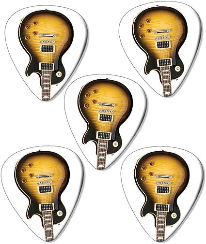 Slash Guitar Premium Guitarra Púa para guitarra (Picks X 5: Amazon ...