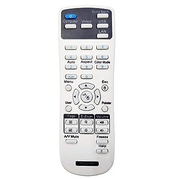 InTeching 2181788 - Mando a distancia para proyector Epson EX3260 ...