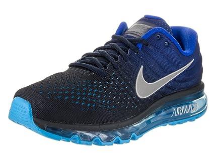 the latest 72684 0c515 ... czech nike mens air max 2017 running shoes dark obsidian white royal blue  849559 b1017 fda72
