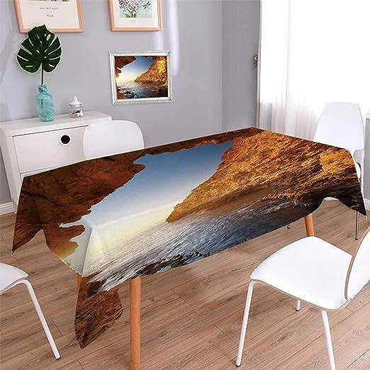 Anmaseven - Mantel Impermeable para Mesa de Picnic con diseño de ...