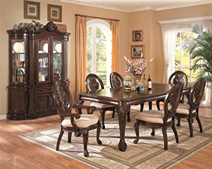 Amazon Com Tabitha 7 Piece Dining Set With Hutch And Buffet