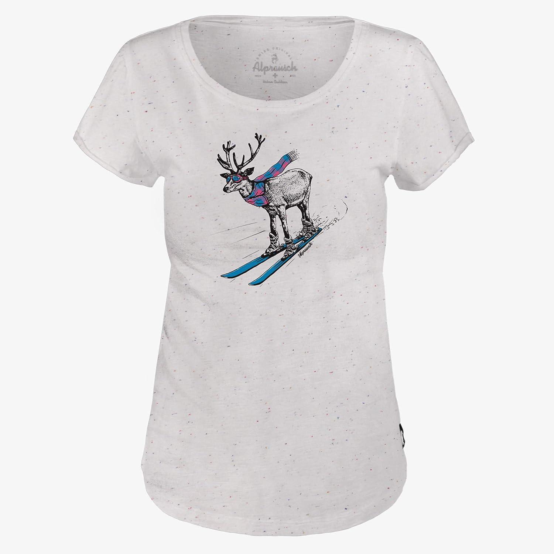 Alprausch Damen schii Renne t-Shirt