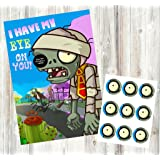 pvz party game i have my eye on you zombie