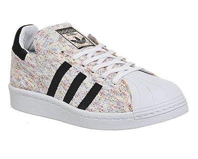 buy popular 6cb84 e1490 Adidas Superstar 80s PK chaussures, ftwr white core black, 43.5 EU