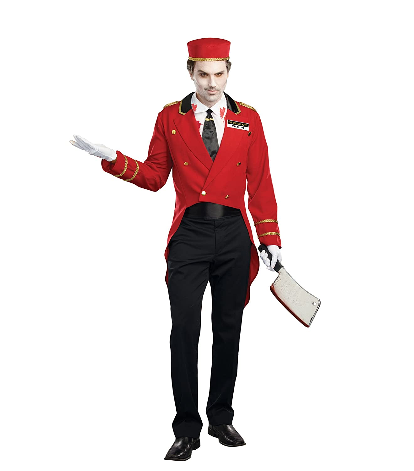 Dreamgirl Mens Horror Hotel Costume