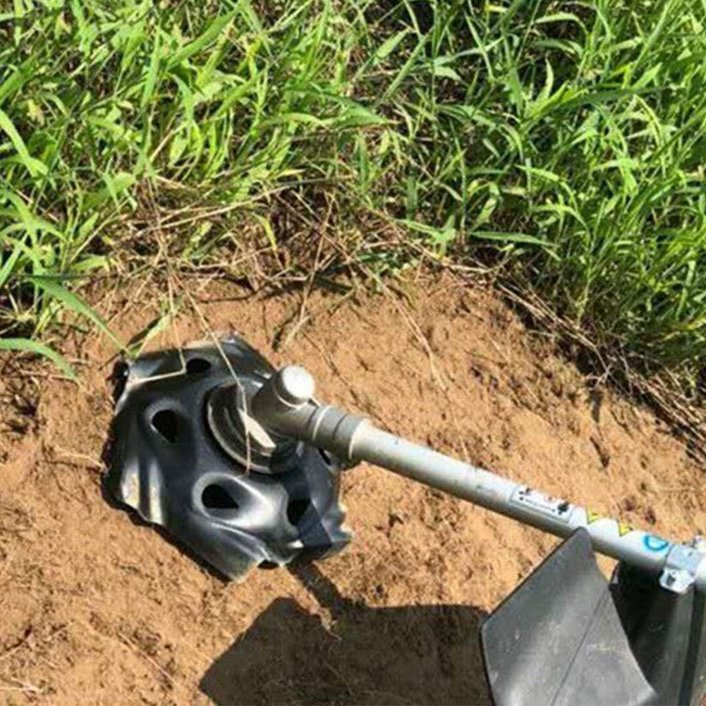 Nero Vassoio per Erbacce per Giardino Testina Universale in Acciaio al Carbonio per Tosaerba Fattoria Dyda6 Taglia Libera Lama di Ricambio per Tosaerba