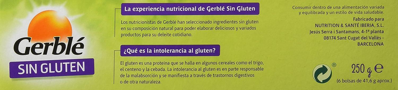Gerblé Tostadas A La Harina De Maíz Y Arroz, Sin Gluten - 250 gr: Amazon.es: Amazon Pantry