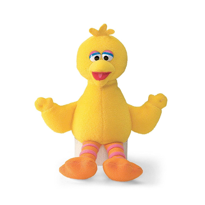 0b6329fdc72bec Sesame St - Big Bird Beanie 17cmStuffed Plush Toy,17 x 14 x 13cm:  Amazon.com.au: Toys & Games