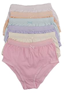 eb05708a21b4 Daisy Dreamer 12 Pack Ladies Briefs Maxi, 100% Cotton Full Comfort ...