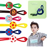 6 Pack - Mask Lanyard for Kids,Cute Adjustable Length Mask Lanyard with Clip,Mask Lanyard Strap for Child,Comfortable…