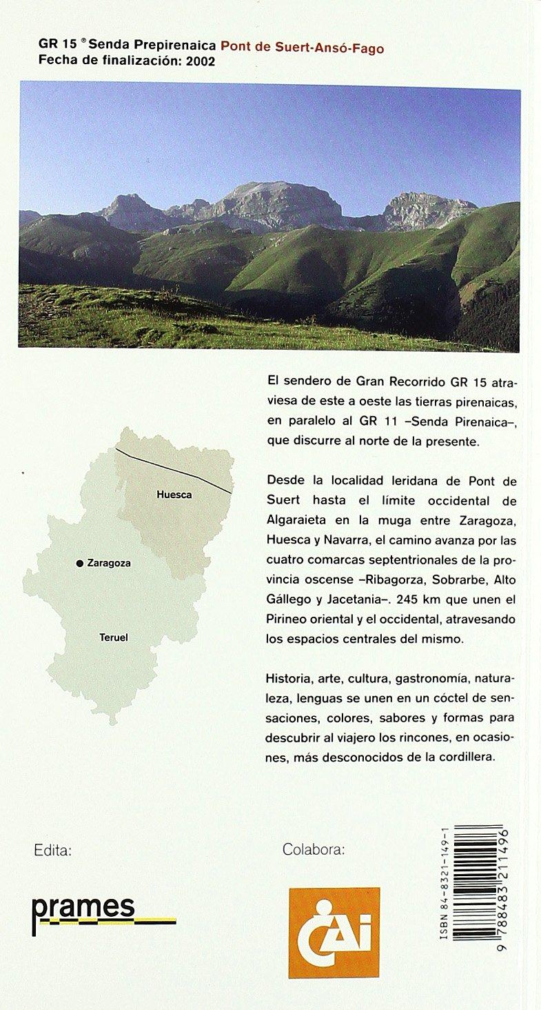 Gr 15 (Senderos De Gran Recorrido): Amazon.es: Aa.Vv., Aa.Vv ...