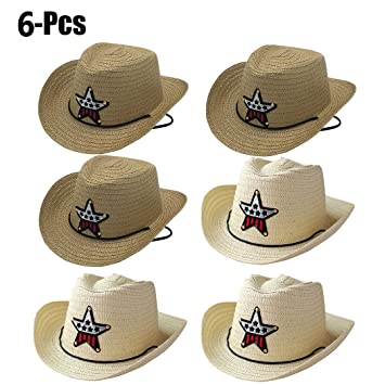 aaccd9f83a5 Image Unavailable. Image not available for. Color  Coxeer Cowboy Hat