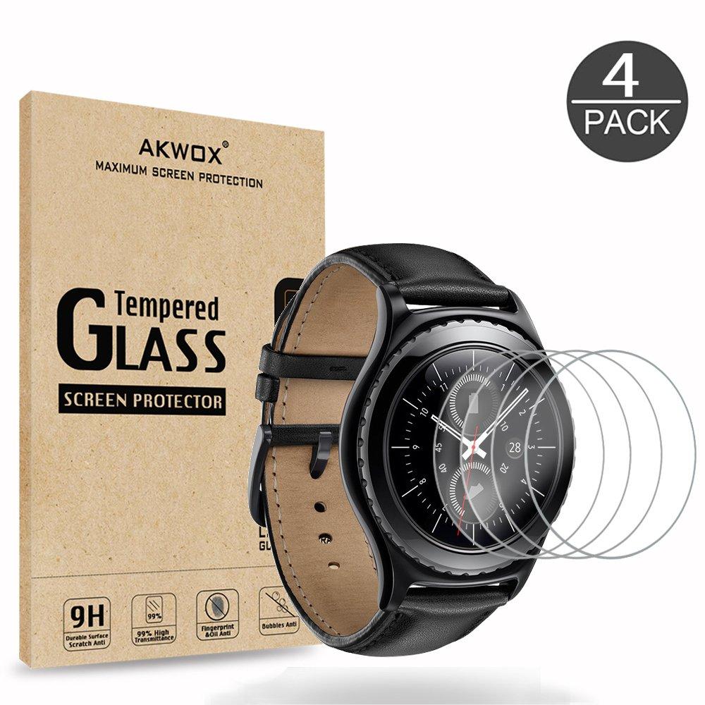 Vidrio Protector Para Samsung Gear S2 X4 Akwox -6xbp4gsw