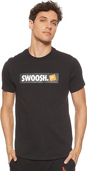 Nike M NSW Tee Swoosh Bmpr Stkr T Shirt Homme
