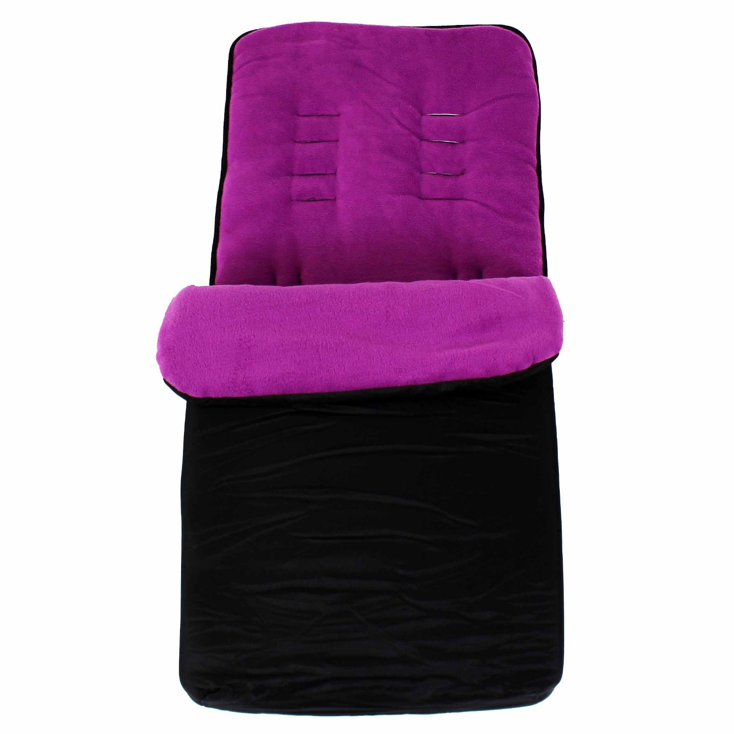 Baby Travel Essential Deluxe Snug Footmuff Cosytoes - Black/Plum