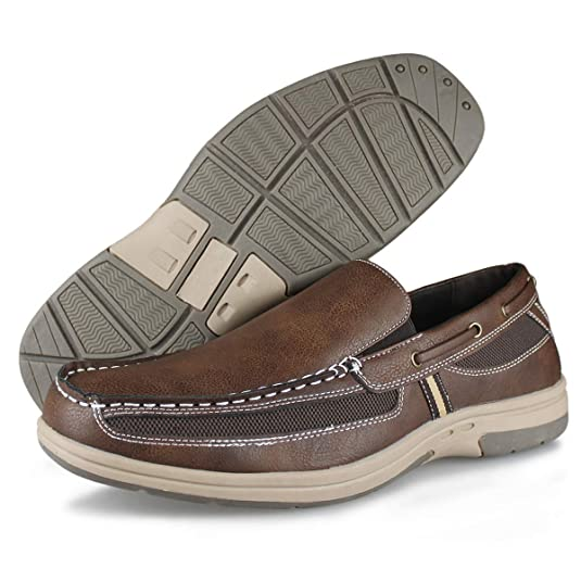 Amazon.com: Hawkwell - Zapatos de barco, cómodos, informales ...