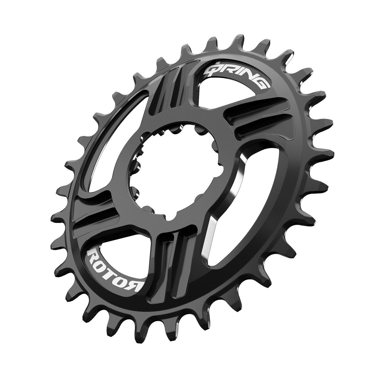 rotor Q Direct Mount Q Anillo de Dientes 34 Negro para SRAM GXP Montaje Directo