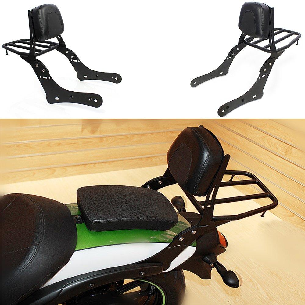 Motorcycle Backrest Luggage Rack Rear Passenger Seat Backrest For 2015-2017 Kawasaki VN650 Vulcan S 650 S650 2016 ayouyue