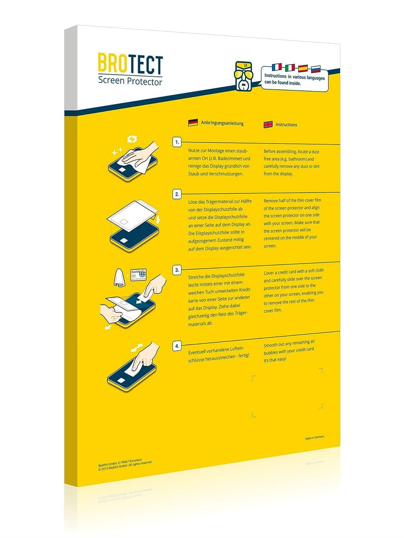 brotect Pellicola Protettiva Compatibile con Lowrance HDS Live 12 Pellicola Trasparente Anti-Impronte 2 Pezzi