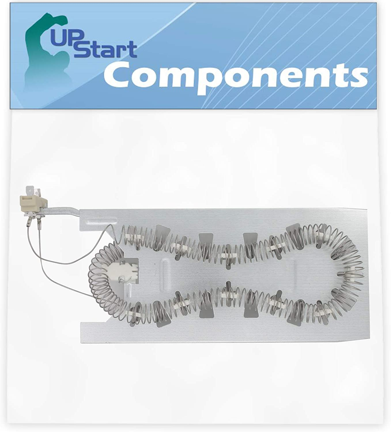 3387747 Dryer Heating Element Replacement for Kenmore/Sears 11064872401 Dryer - Compatible with 3387747 Heater Element - UpStart Components Brand