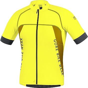 b0e3f639456a Gore Bike Wear Men's Alp-X Pro Shirt, Spralp Yellow Cadmium Yellow/Golden