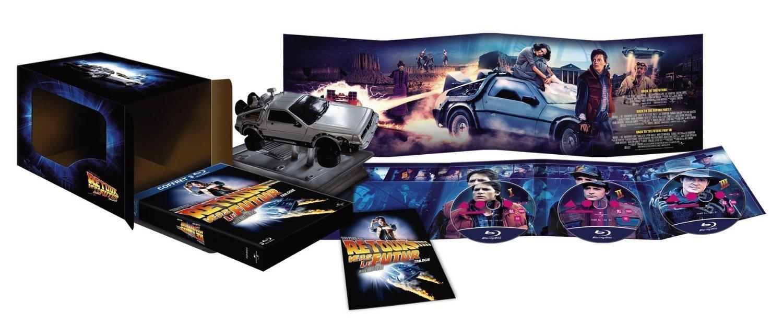 Coffret Trilogie Retour vers le futurEdition collector limitée avec réplique voiture Delorean [Blu-ray] B003YI3DJU