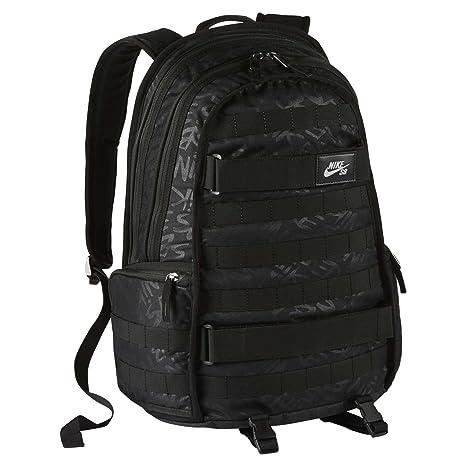 ba8abb2cc Nike SB RPM Graphic Skateboarding Backpack - Black Black Black  Amazon.ca   Luggage   Bags