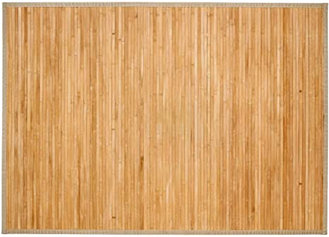 Tapis Bambou Latte 120x170 Naturel Amazon Fr Cuisine Maison