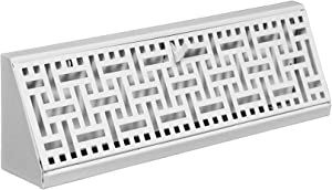Accord ABBBWHB15 Baseboard Register with Wicker Design, 15-Inch(Duct Opening Measurement), White