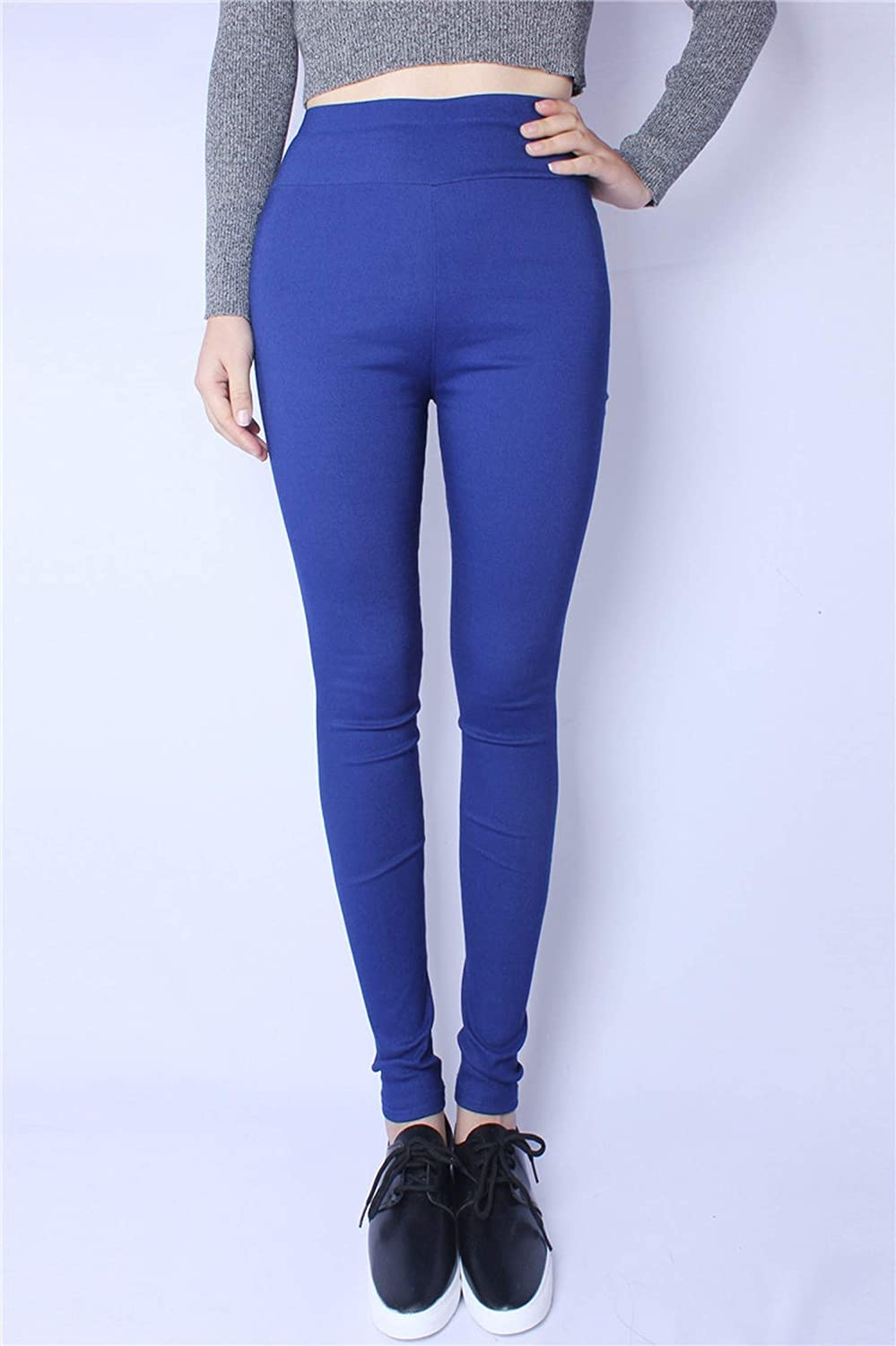 Genius-route-store Women Spring Pants Jeans Leggings Casual Elastic Pencil Pants