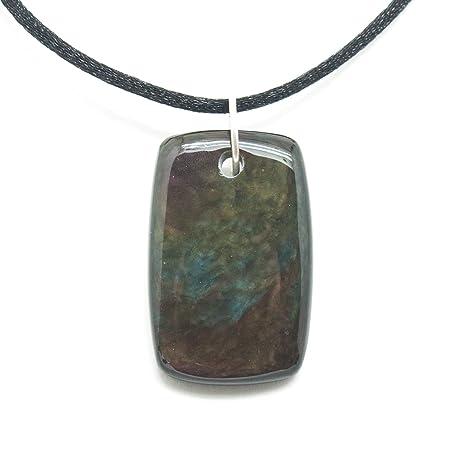 Amazon rainbow obsidian necklace everything else rainbow obsidian necklace aloadofball Image collections