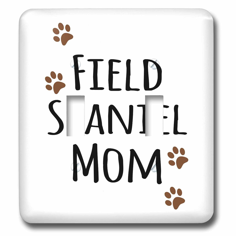 【期間限定特価】 3drose_ LLC lsp 154117 B00E68JLF2_ 2 Field Spaniel Paw Dog Mom – Doggie by Breed – ブラウンMuddy Paw Prints – 犬愛好家 – ペット所有者Mama Loveダブル切り替えスイッチ B00E68JLF2, オバラムラ:e31c84e4 --- svecha37.ru