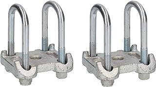 4U-tornillos 2 placa base Ifor Williams remolques dobles ballestas parabólicas AB Tools