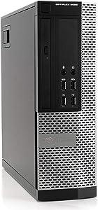 Dell OptiPlex 9020 Premium Desktop Computer PC - Intel Quad Core i5 3.2GHz, 16GB RAM, 1TB HDD, DVD, WiFi, Windows 10 Professional (Renewed)
