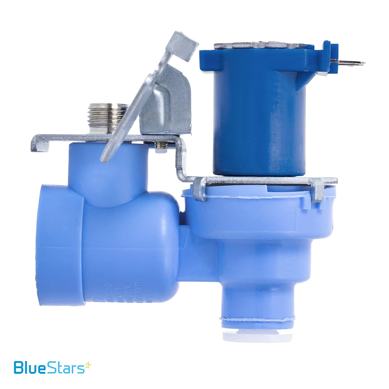 Exact Fit for LG Refrigerators PS3536019 Replaces AP4451762 Ultra Durable MJX41178908 Refrigerator Water Valve Replacement Part by Blue Stars