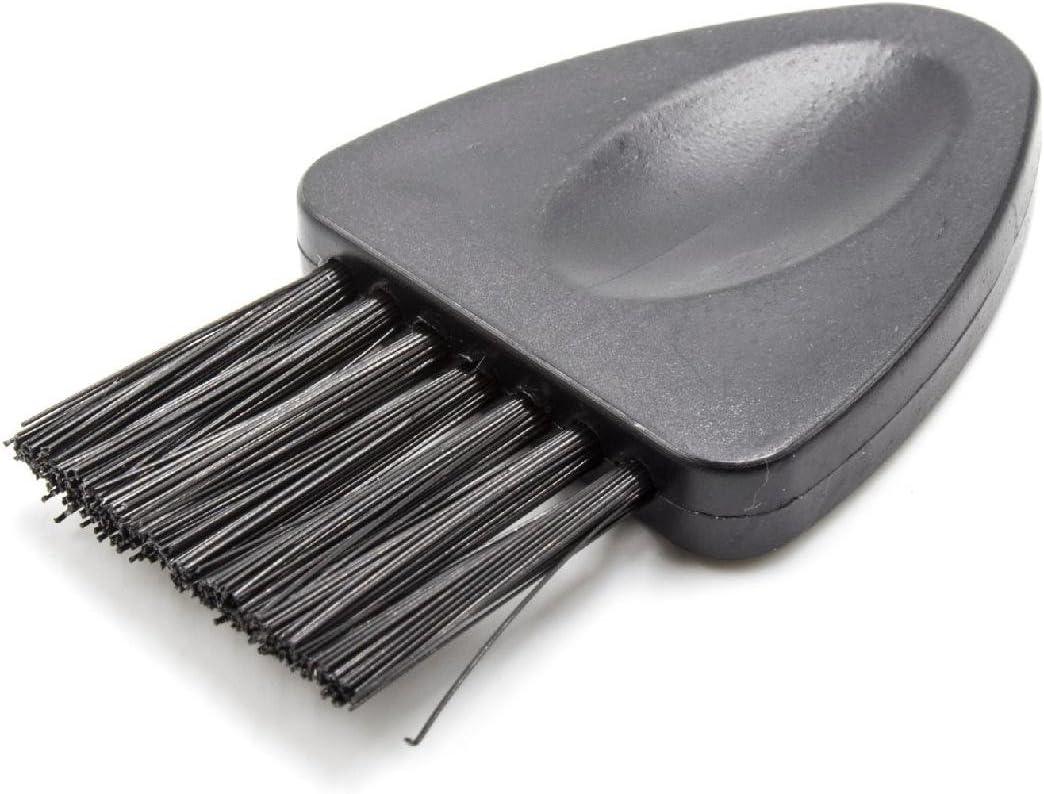 vhbw Cepillo de Limpieza Modelo 6 para máquinas de Afeitar, cortapelos por ej. de AEG, Braun, Grundig, Norelco, Panasonic, Philips, Remington, Wella