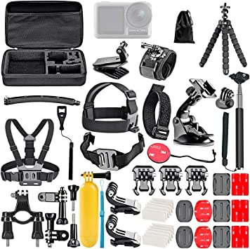 Polai 50-in-1 Expansion Kit para dji OSMO Action Camera - Estuche ...