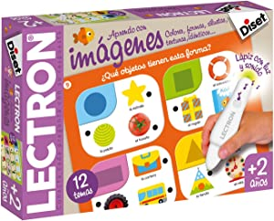 Diset - Lectron lápiz aprendo con imágenes - Juego educativo a partir de 2 años