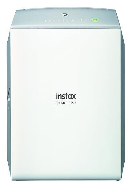 Fujifilm Instax Share SP-2 - Impresora para smartphone, Plata ...