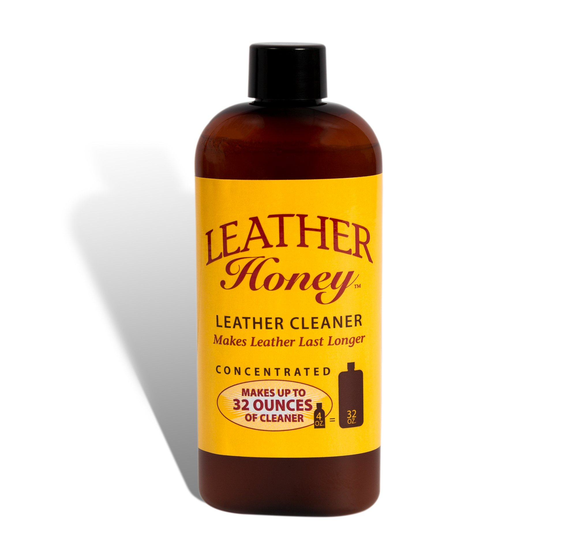 Leather Honey Leather Cleaner The Best Leather Cleaner for Vinyl and Leather Apparel, Furniture, Auto Interior, Shoes and Accessories. Concentrated Formula Makes 32 Ounces When Diluted! by Leather Honey