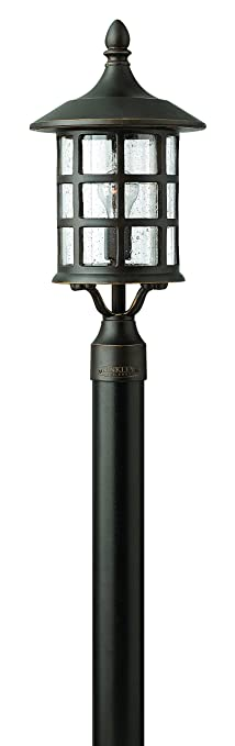 Hinkley lighting 1801oz freeport 1 light outdoor light oil rubbed hinkley lighting 1801oz freeport 1 light outdoor light oil rubbed bronze mozeypictures Images