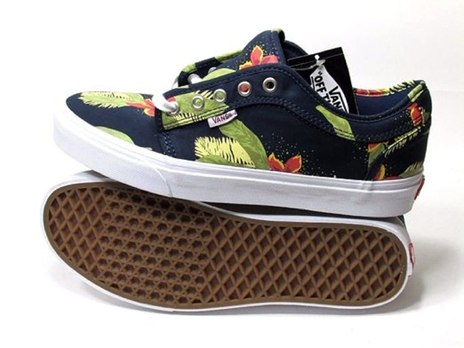Vans Chukka Low Aloha Navy Blue/Green Sneakers Mens (13 Mens) durable  service