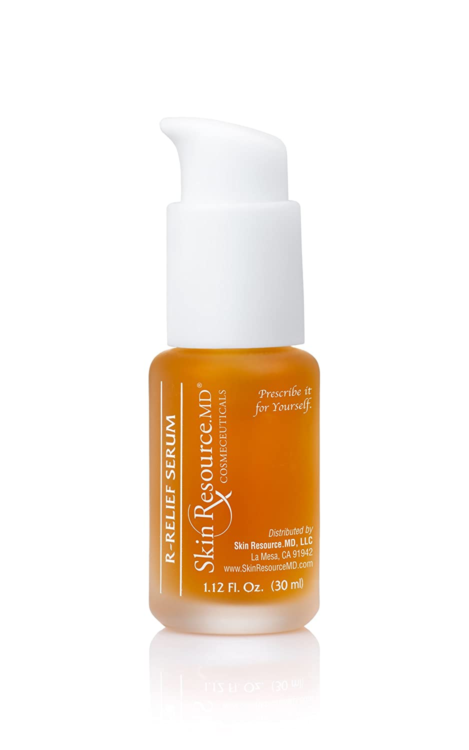 SkinResource.MD R-Relief Serum Visibly Reduce Signs of Chronic Redness and Rosacea -Prone Skin