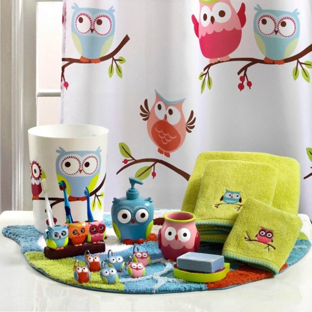 Amazon Com Hooty Owl Bath Towel Home Kitchen